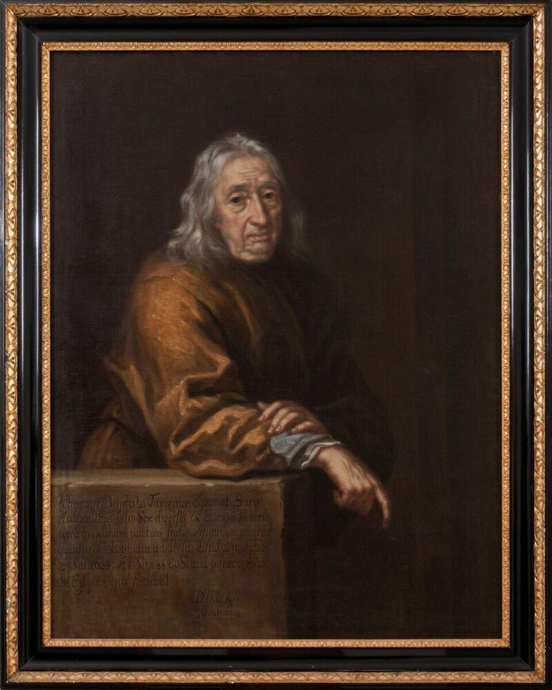 David Klöcker Ehrenstrahl (1628-1698) Jean Baptiste Tavernier