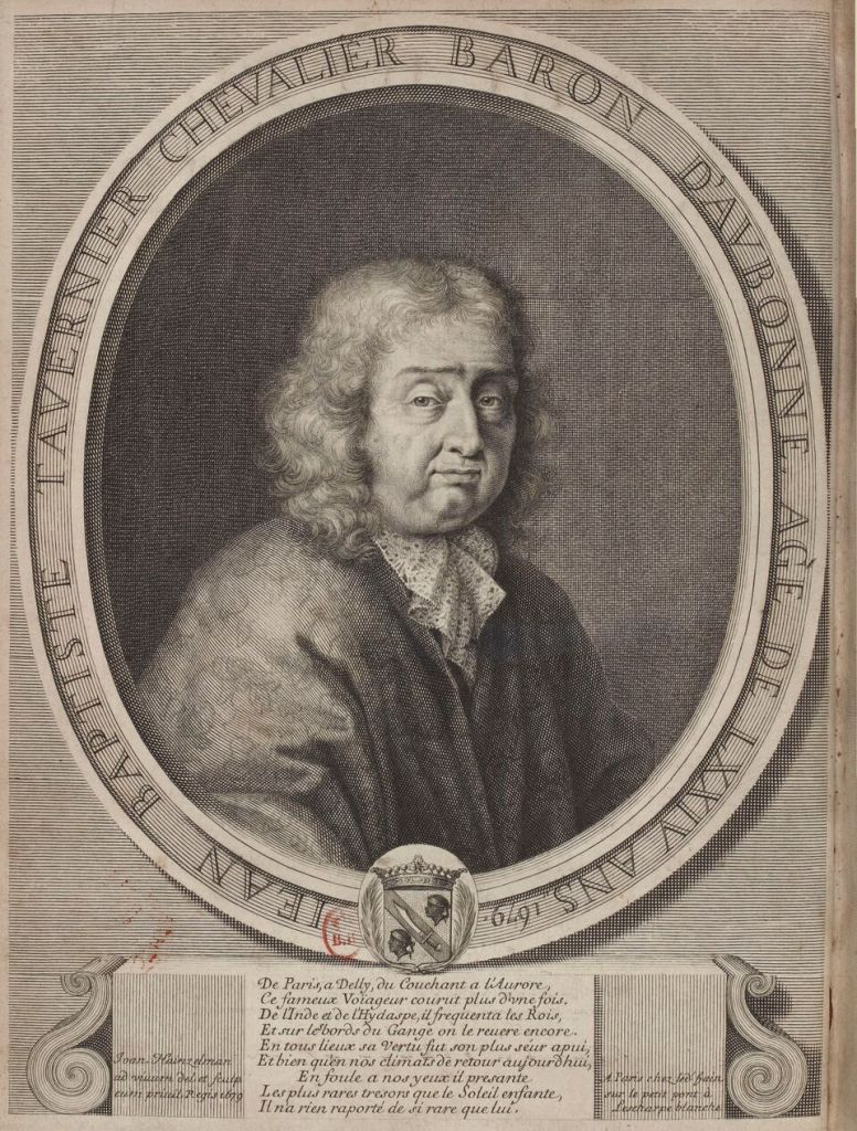 David Klöcker Ehrenstrahl, Jean-Baptiste Tavernier