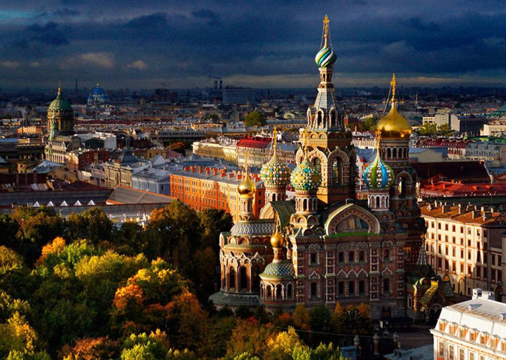 Drone-St-Petersburg-Church