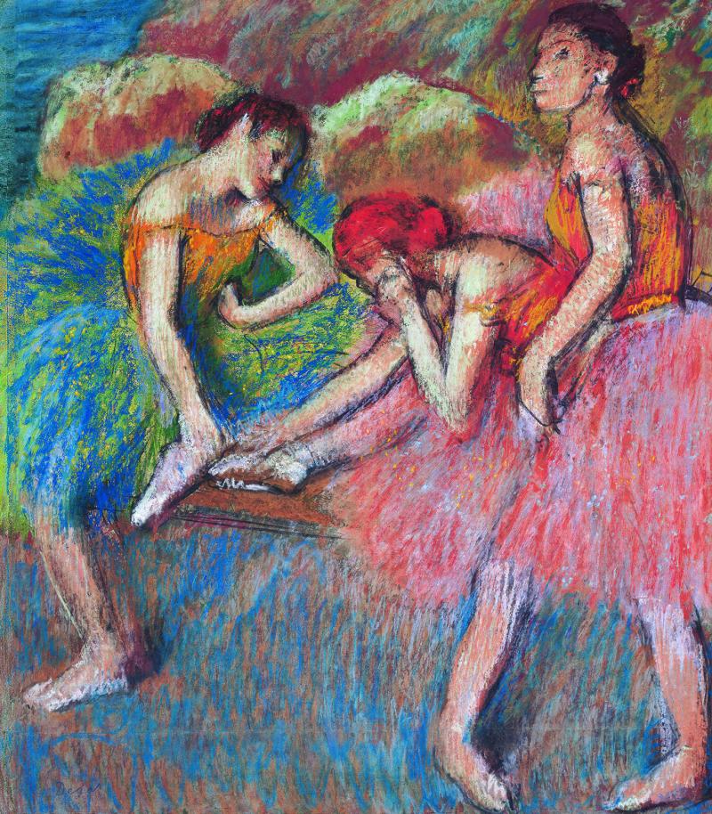 Edgar Degas, Danseuses au repos