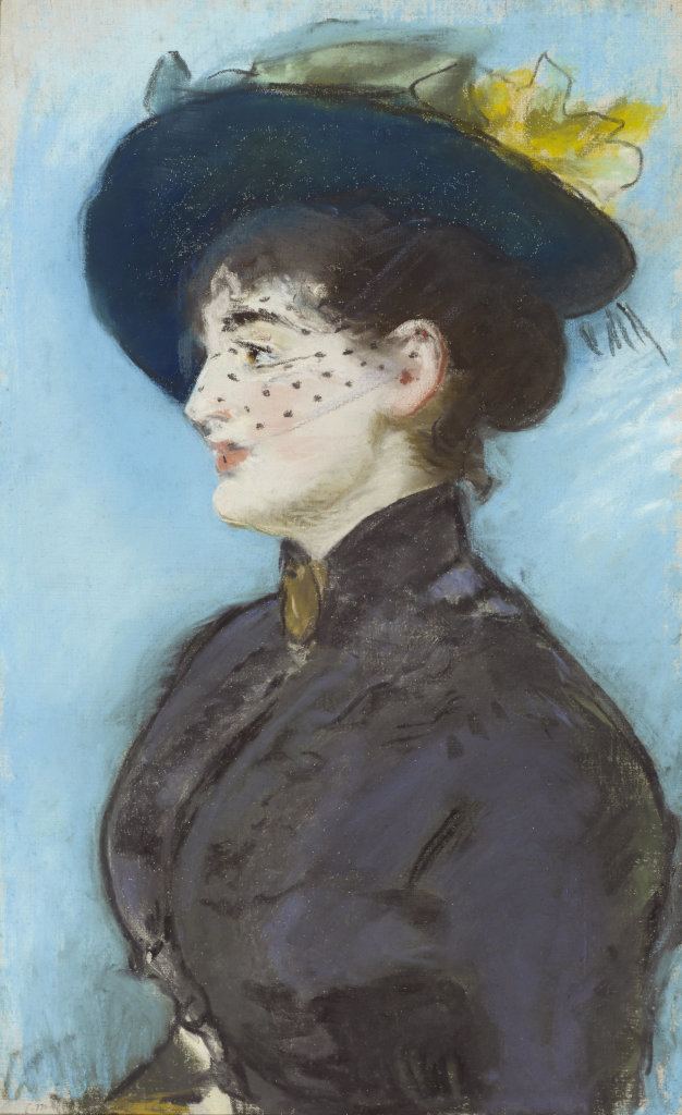 Edouard Manet, La Viennoise Irma Brunner