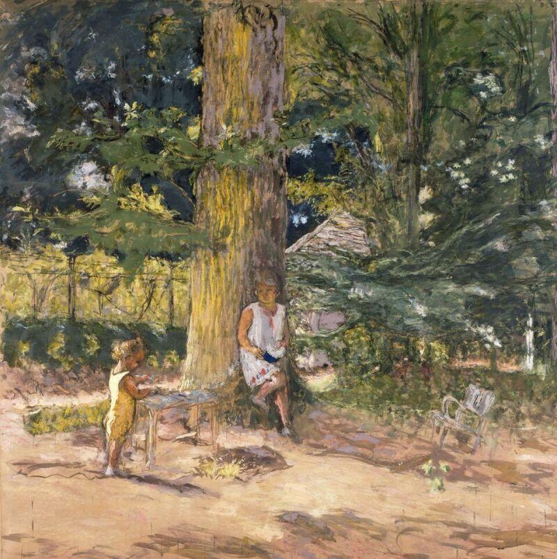 Edouard Vuillard, Antoinette David-Weill et son neveu