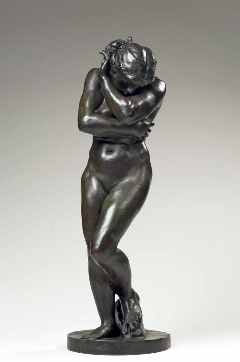 Emmanuel Berry, Auguste Rodin, Petite ève, base ronde