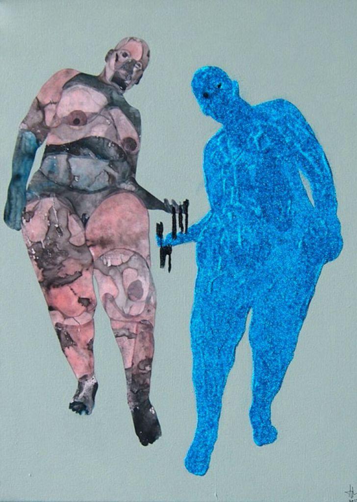 Femmes Totem, Florine Demosthene, collage digital