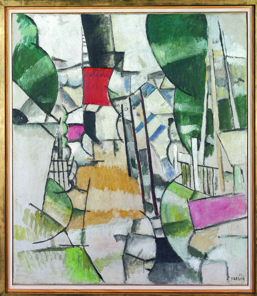 Fernand Léger, Le Passage à niveau, 1912