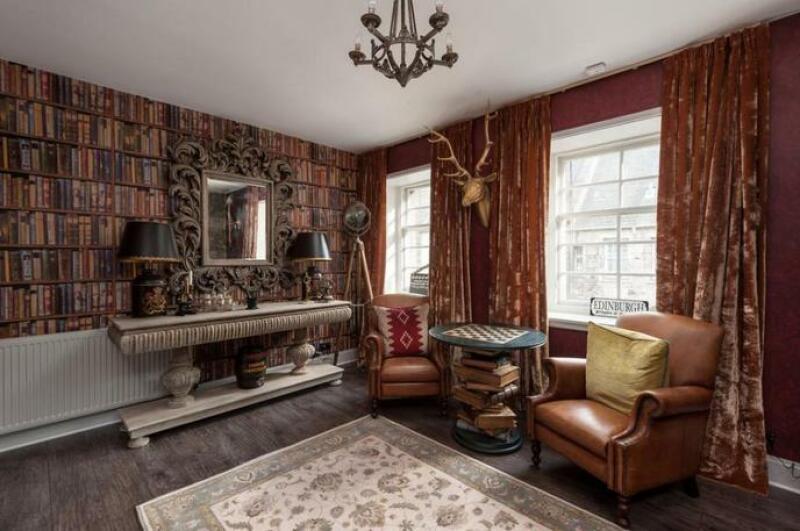 Vue de l'appartement, Salon