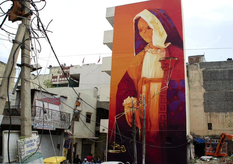 INTI, Delhi, Inde, 2015