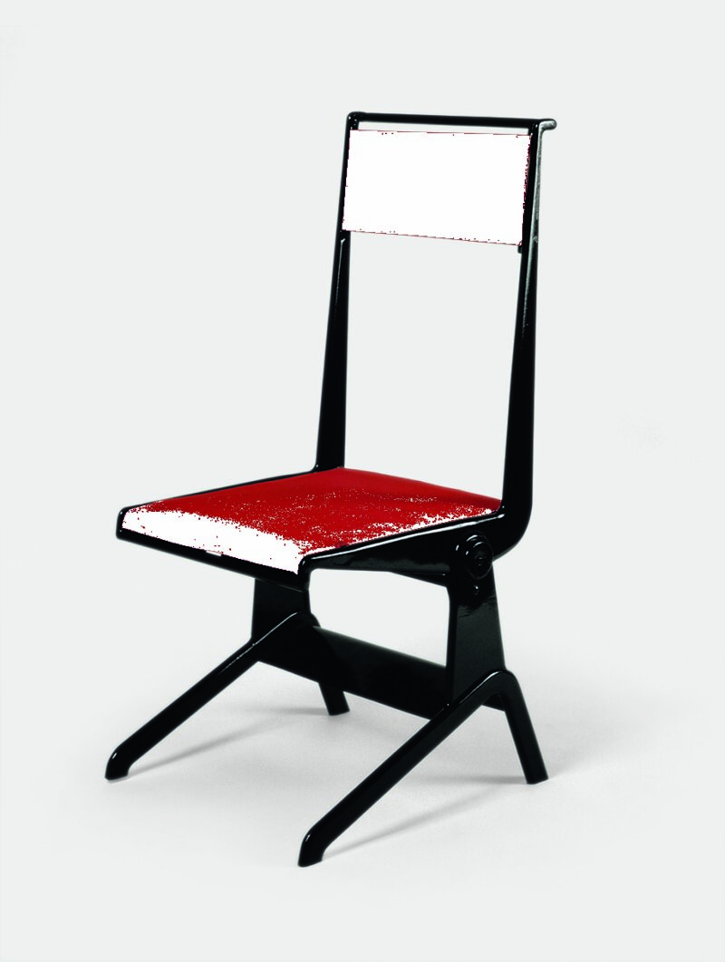 Jean Prouvé, chaise inclinable, 1924