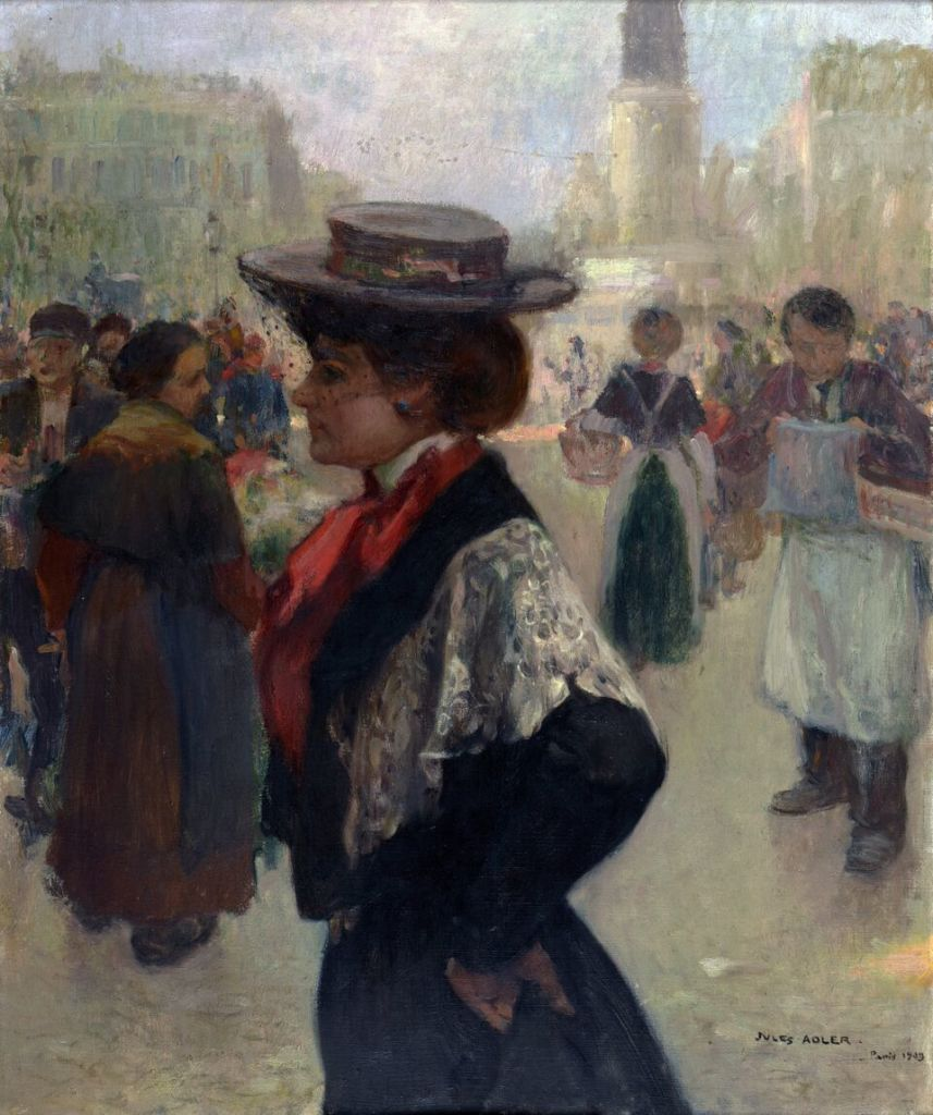Jules Adler, Trottin