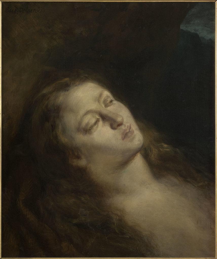 La Madeleine au désert, Eugène Delacroix © RMN-Grand Palais (Musée du Louvre) Michèle Billot