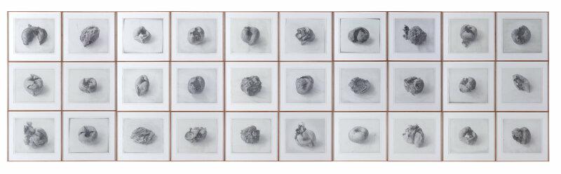 Lee Bae, Dessin, graphite sur papier, 2000.