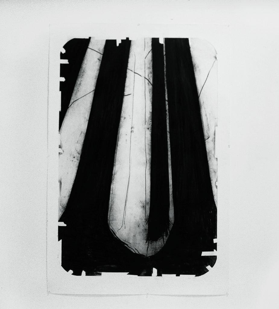 Lee Bae, Dessin au charbon