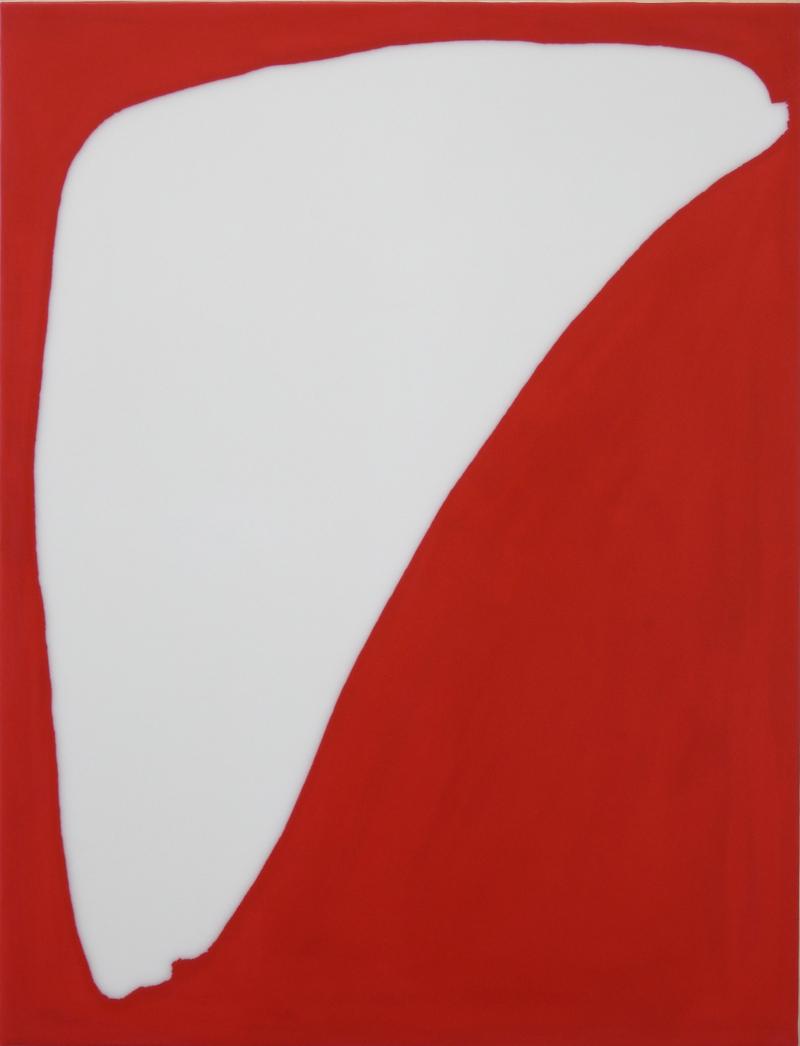 Lee Bae, Untitled, acrylic medium on canvas,2017,116 x 89cm