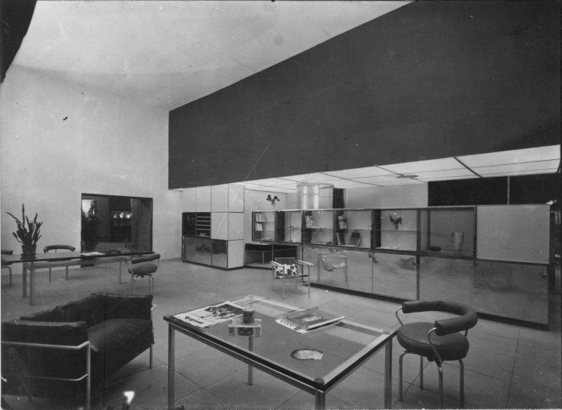 Le Corbusier, Pierre Jeanneret, Charlotte Perriand, stand Equipement intérieur d'une habitation, Salon d'automne, Paris, 1929