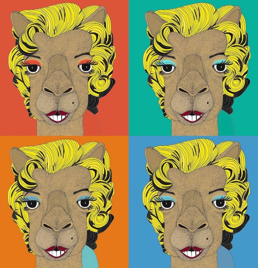 Leona Rose - Andy Warhol camels