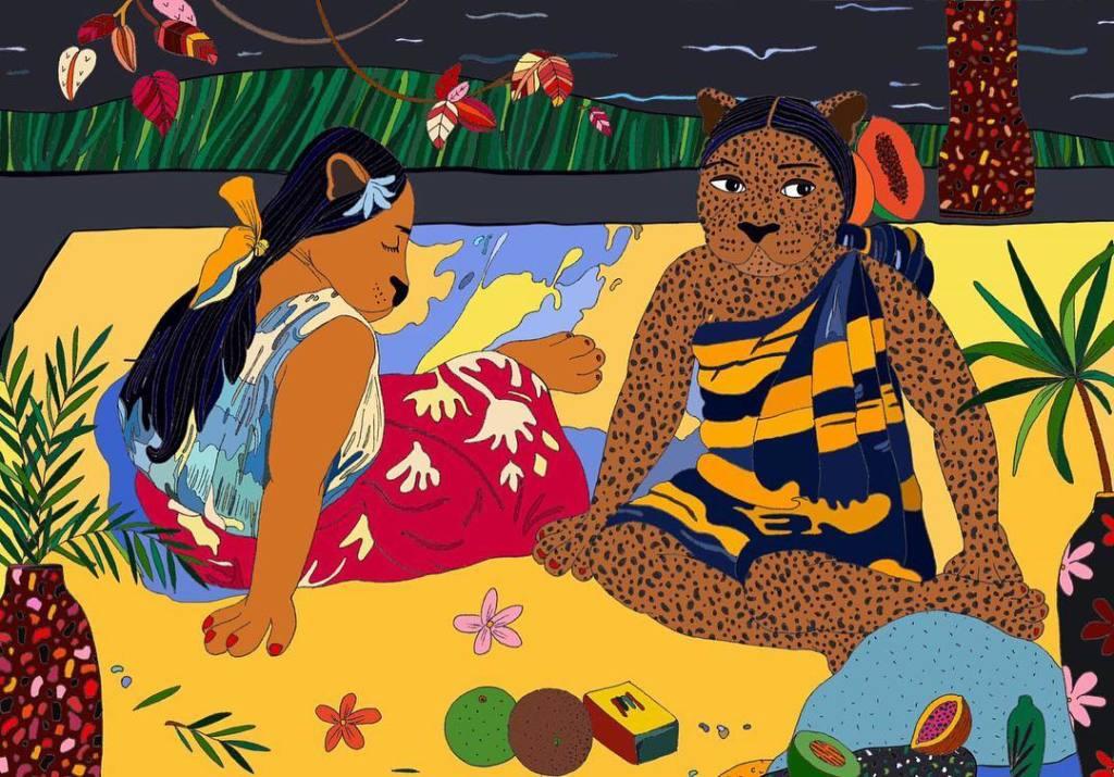Leona Rose - Gauguin panters