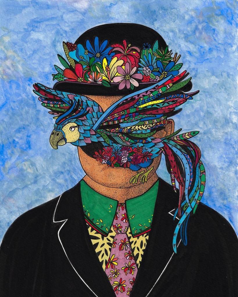 Leona Rose - Magritte bird