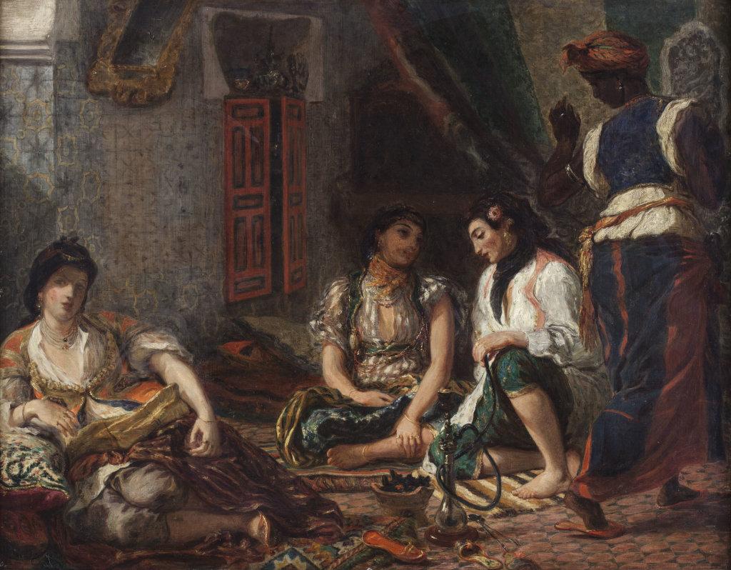Les femmes d'alger, Henri Jean Théodore Fantin-Latour, d'après Eugène Delacroix © RMN-Grand Palais (Musée du Louvre) Harry Bréjat
