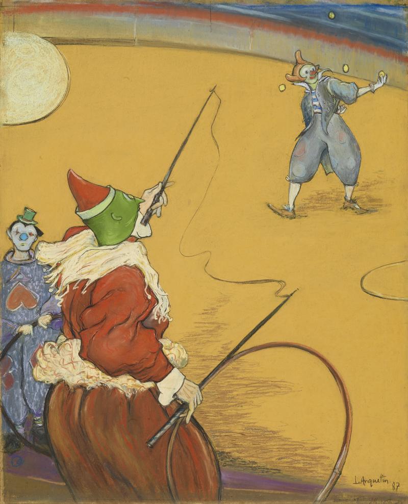 Louis Anquetin, Au cirque Maurice