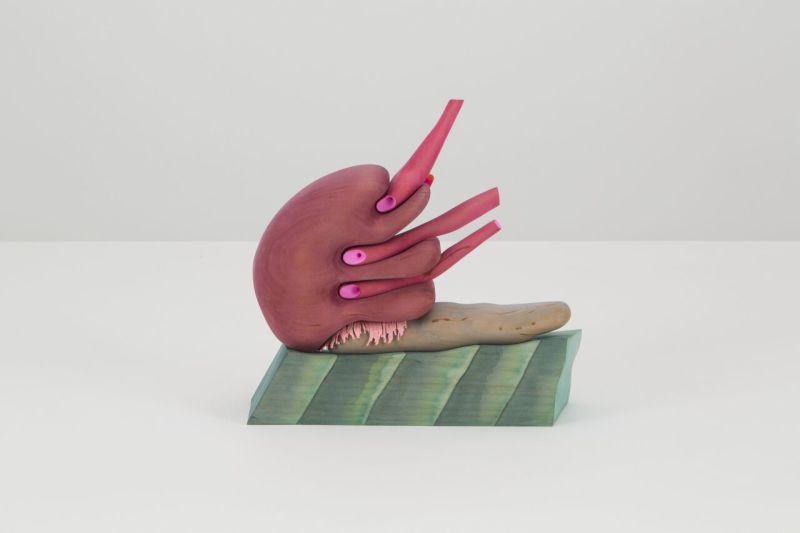 Matthew Ronay, Move, Swallow, Breathe, 2017