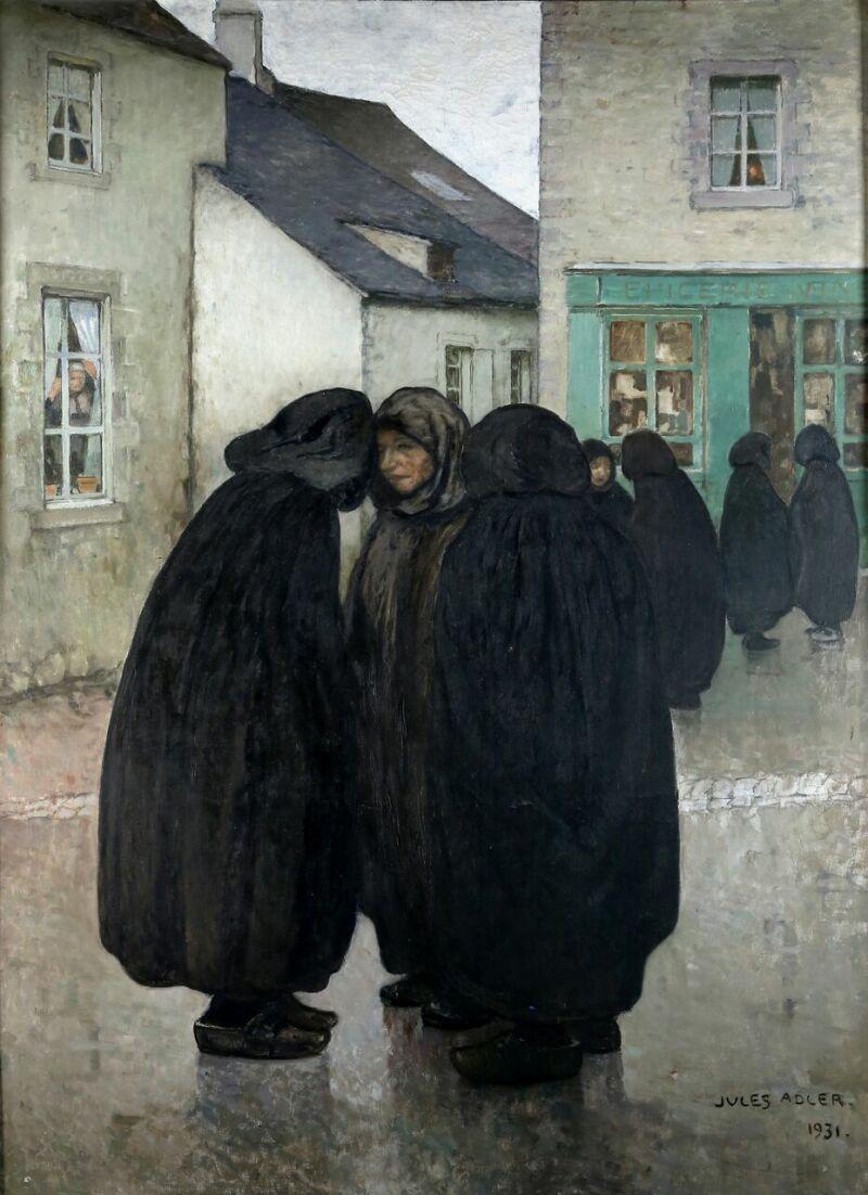 Jules Adler, Deuil Limousin