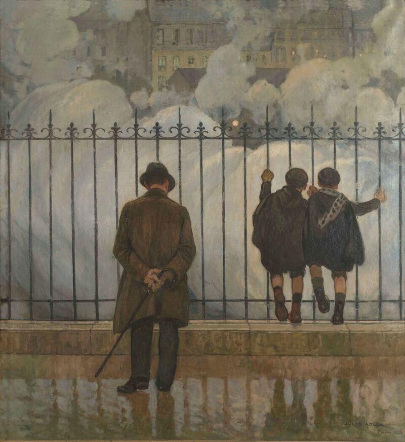 Jules Adler, Fumées