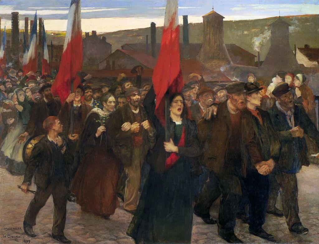 Jules Adler Grève Creusot
