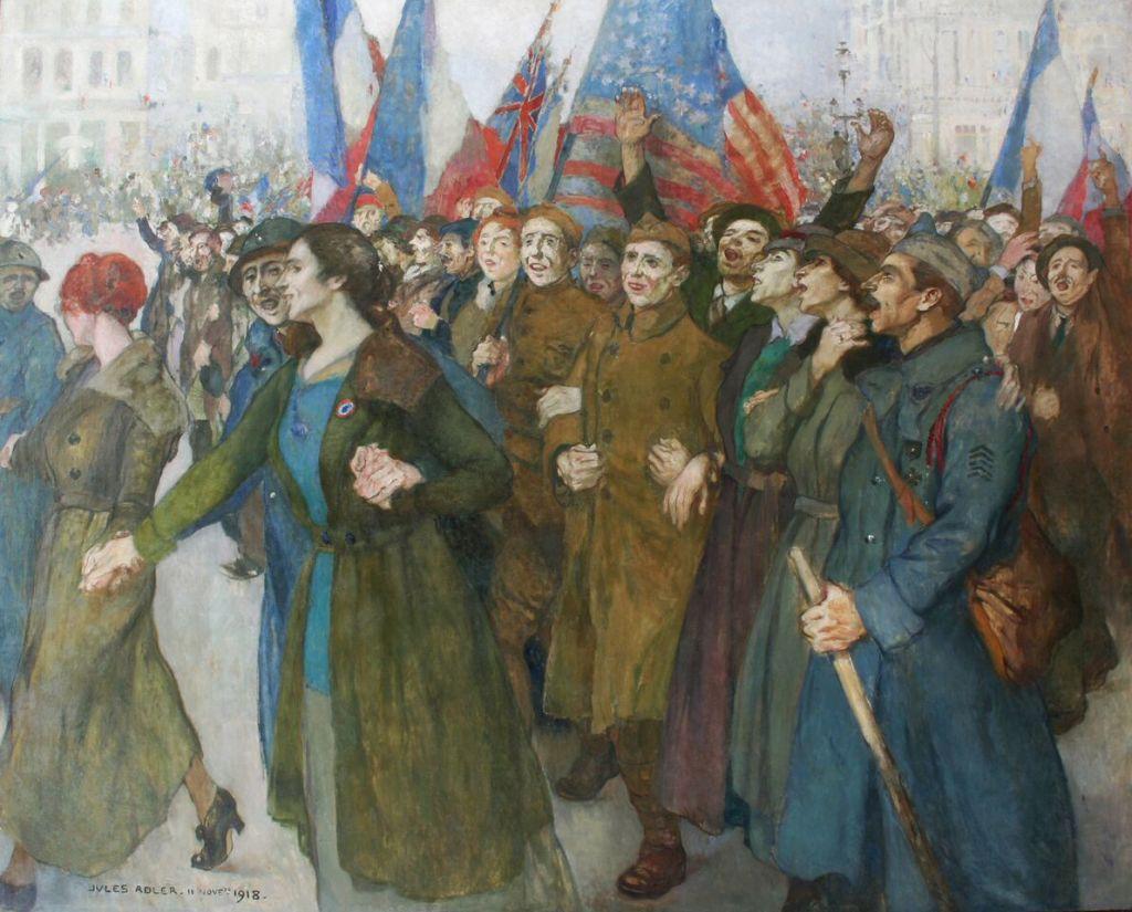 Jules Adler, Armistice