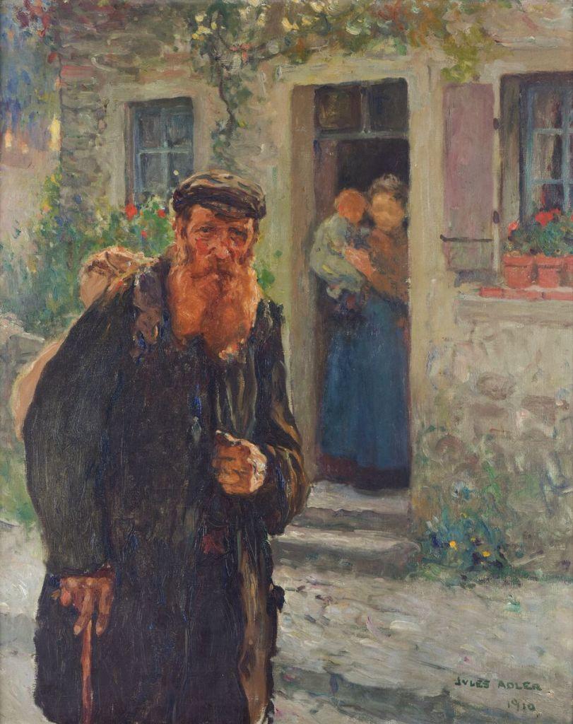 Jules Adler Chemineau, 1910