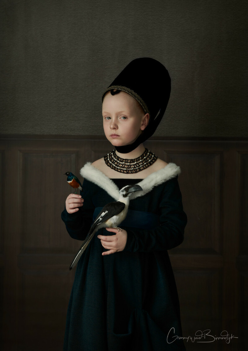 'Painting of a young girl' by Petrus Christus credit Gemmy Woud-Binnendijk