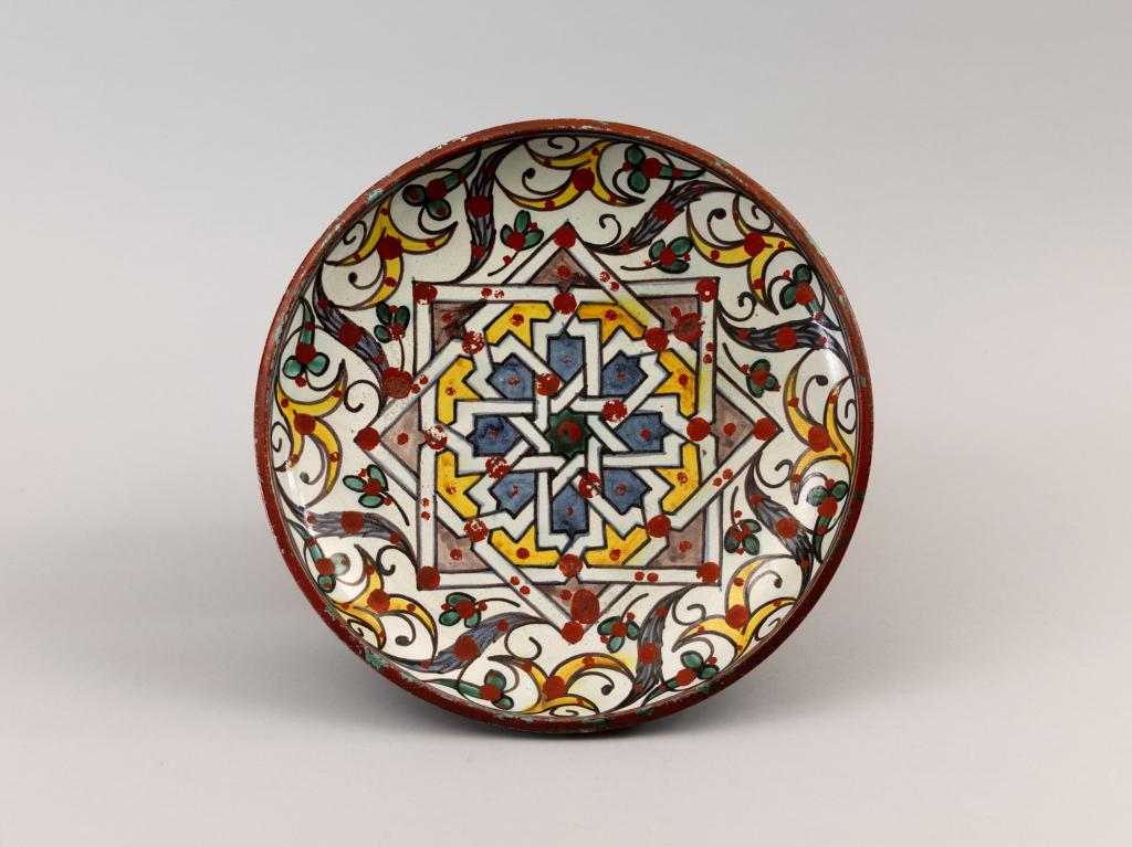 Plat rond (tobsil) © RMN-GP, Musée du Louvre, Gérard Blot