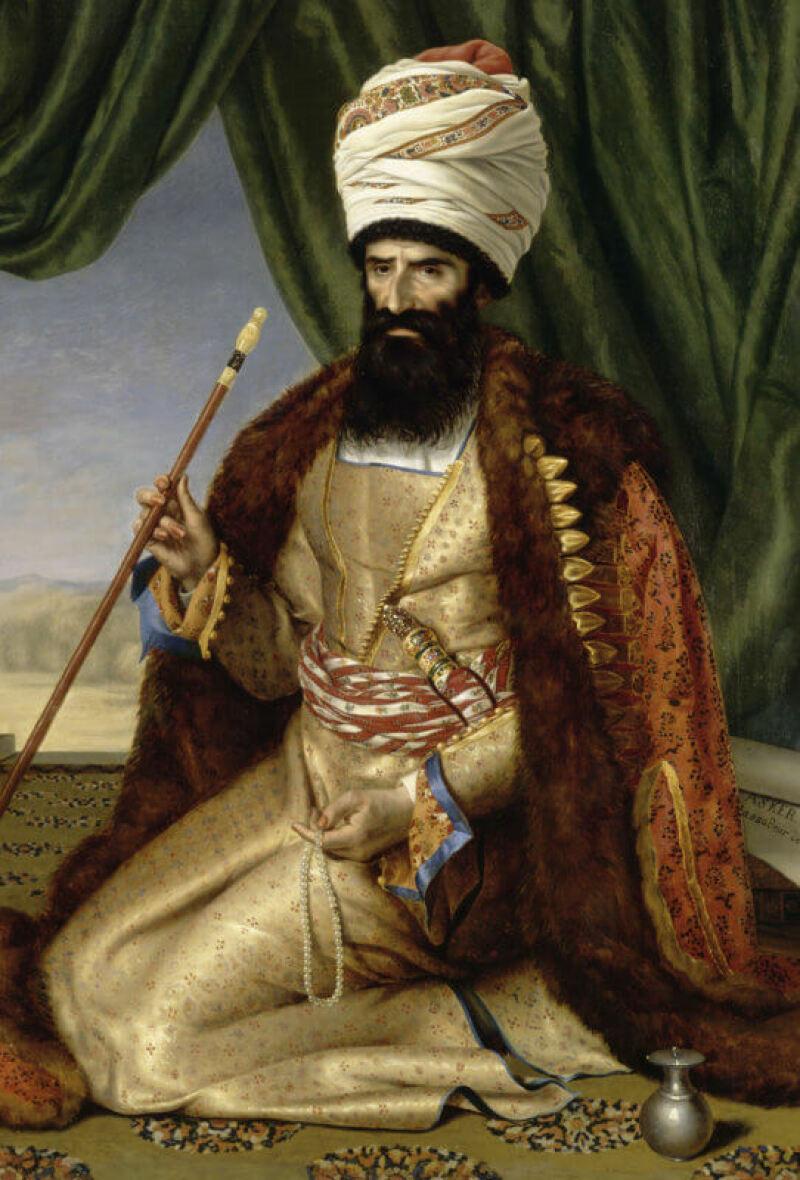 Portrait d'Asker-Khan - Louvre Lens