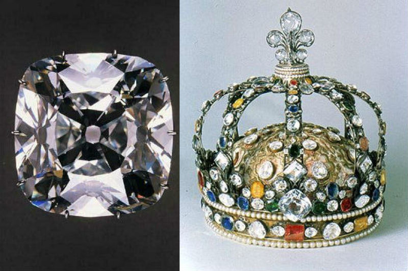 Régent et couronne de France