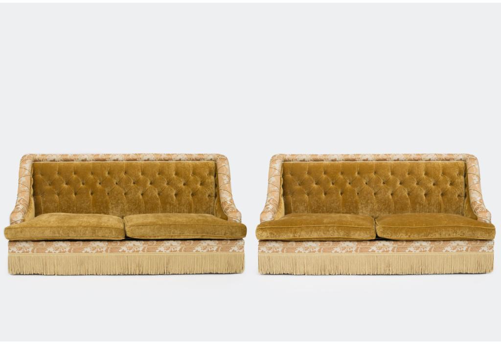 Canapé du salon Proust - Ritz