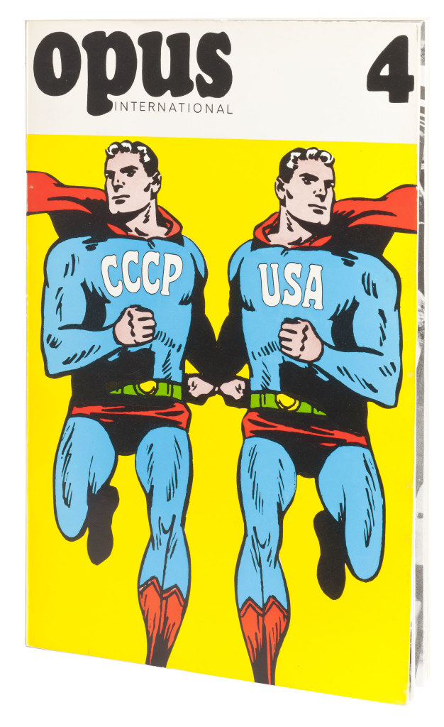 Roman Cieslewicz, CCCP & USA, Mag OPUS International 4, 1967 © Adagp Paris Jean Tholance