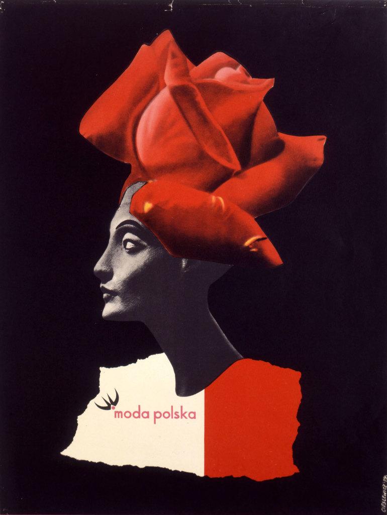 Roman Cieslewicz, Moda Polska, 1959 © Adagp ParisPiotr Travinski