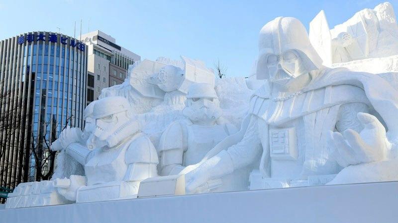 dark-vador-sculpture-neige-japan