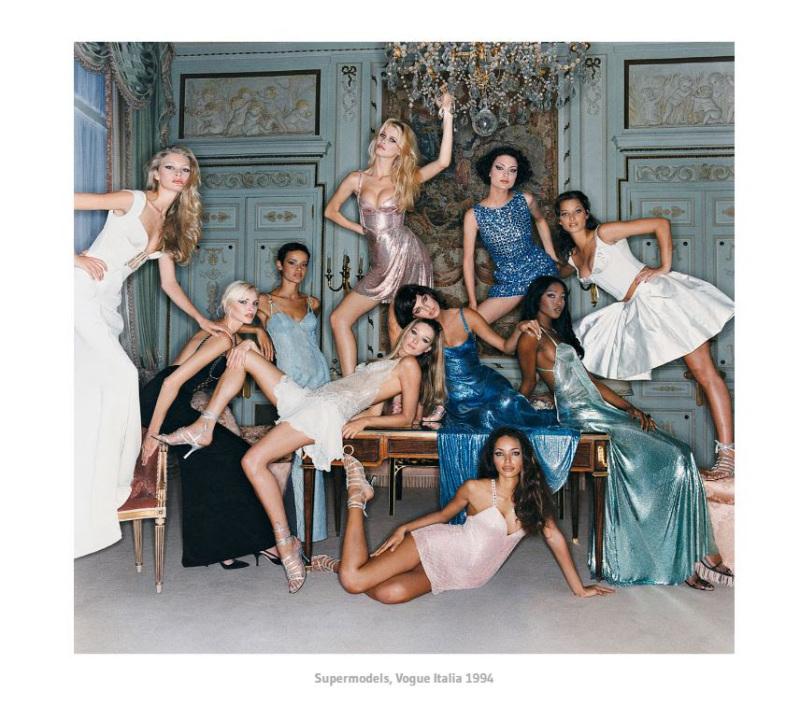 Super Models in Versace 1994