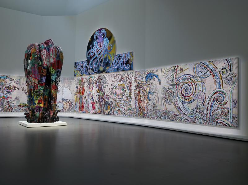 Vue d'installation - exposition Au diapason du Monde