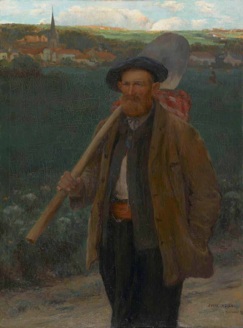 Jules Adler, Chemineau
