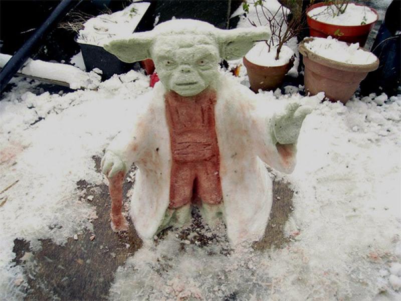 Yoda des neiges