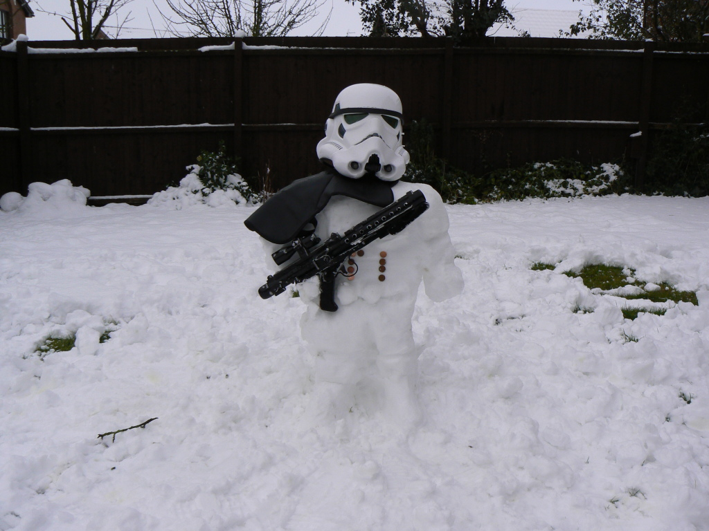 Bonhomme star wars