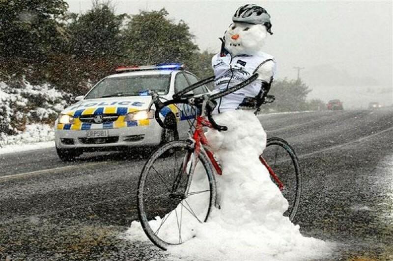 Bonhomme à vélo