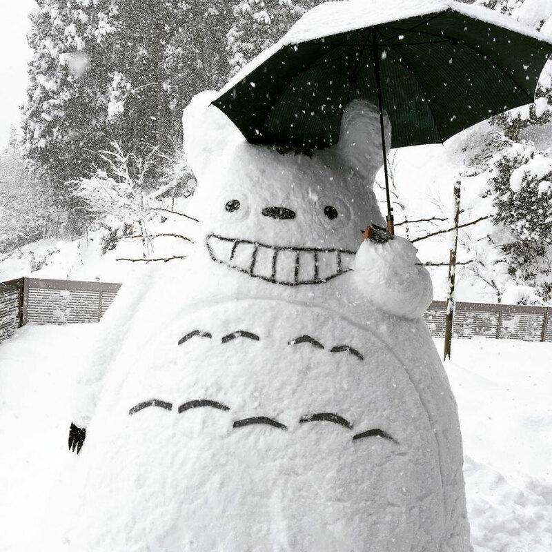 Bonhomme Totoro