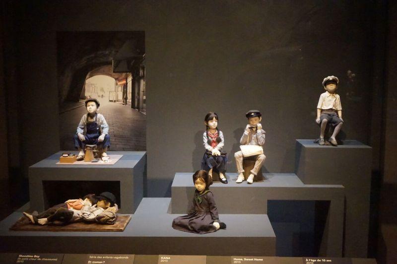Vue de l'exposition Atae Yûki - Maison de la Culture du Japon