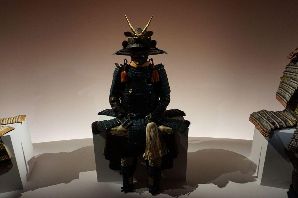 Vue de l'exposition Daimyo au Musée Guimet