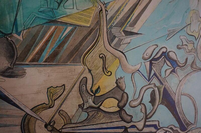 Vue de l'exposition de Nathalie Jacquounain au Cloitre des Billettes