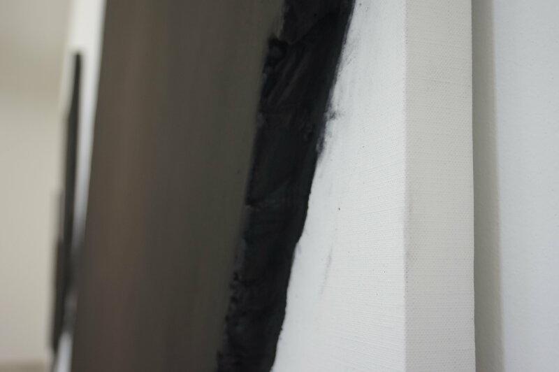 Vue de l'exposition Lee Bae, Black Mapping - Galerie Perrotin (18)
