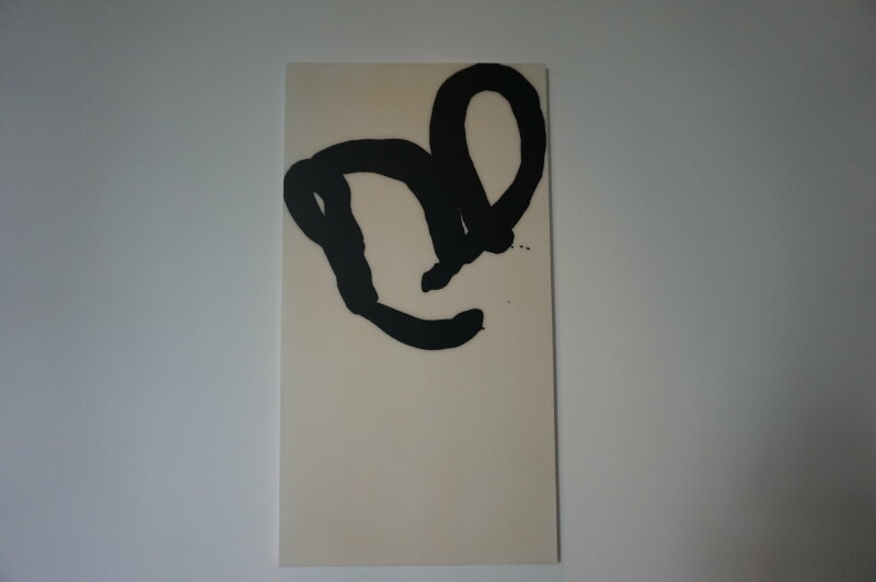 Vue de l'exposition Lee Bae, Black Mapping - Galerie Perrotin (29)