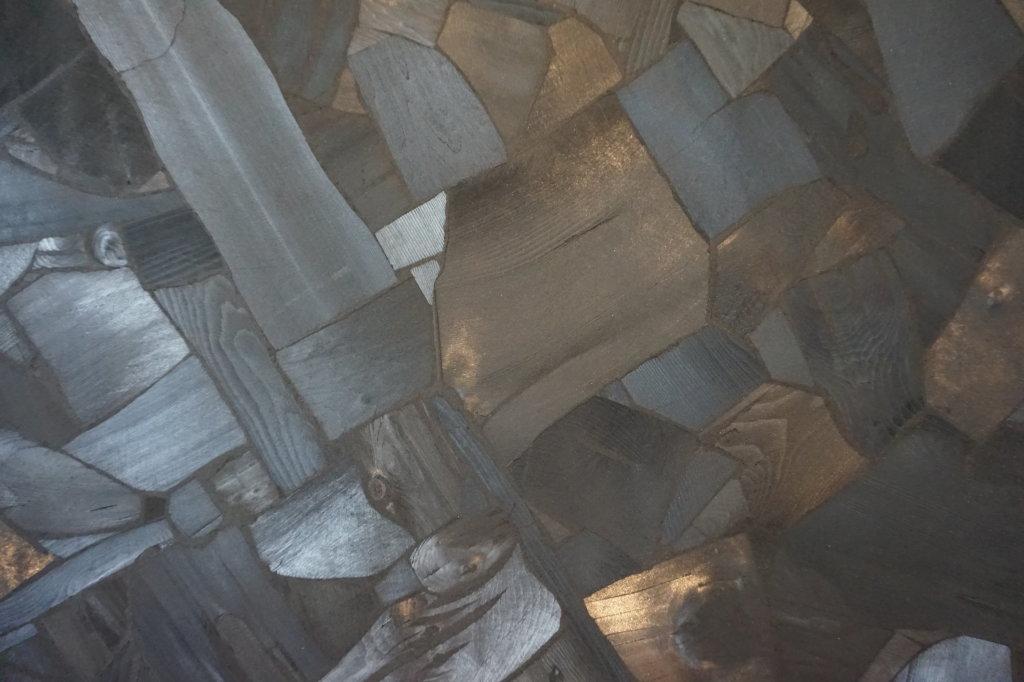 Vue de l'exposition Lee Bae, Black Mapping - Galerie Perrotin (31)